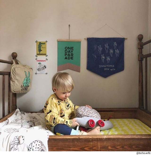 yellow kids bed sheet organic