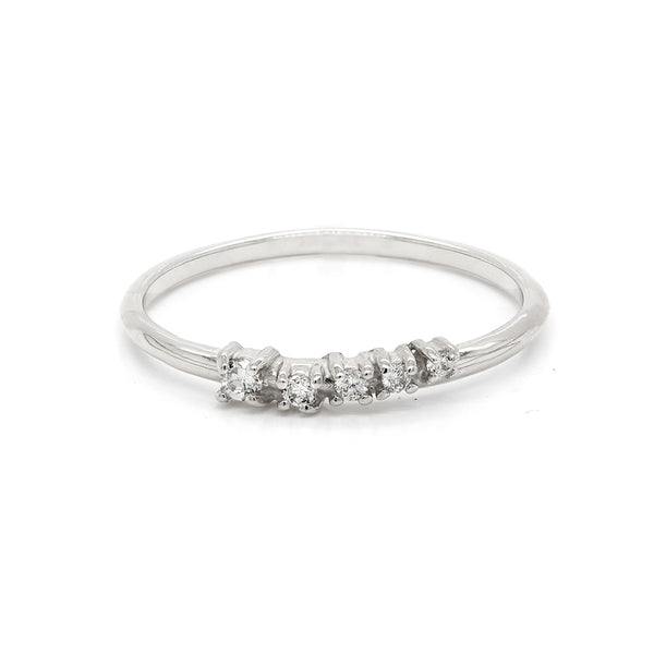 Alana Comet | light grey diamonds