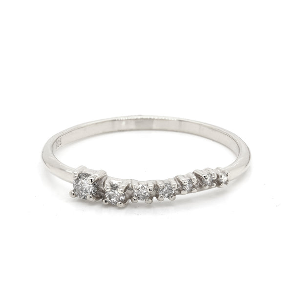 Alana Comet Large | light grey diamonds