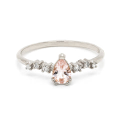 Cara | morganite & diamonds