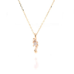 Carina necklace II | white diamond