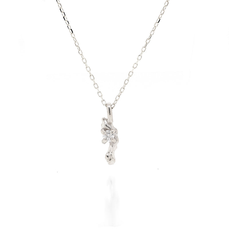 Carina necklace | white diamond