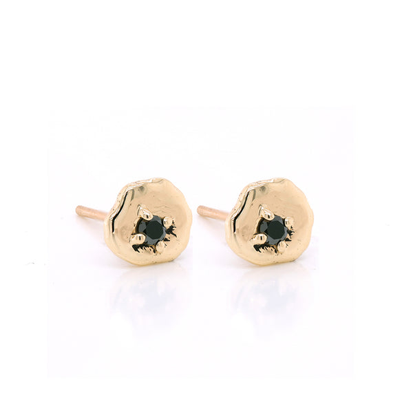 Davina studs II | black diamond