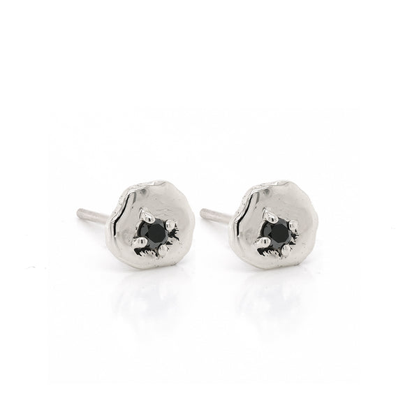 Davina studs | black diamond