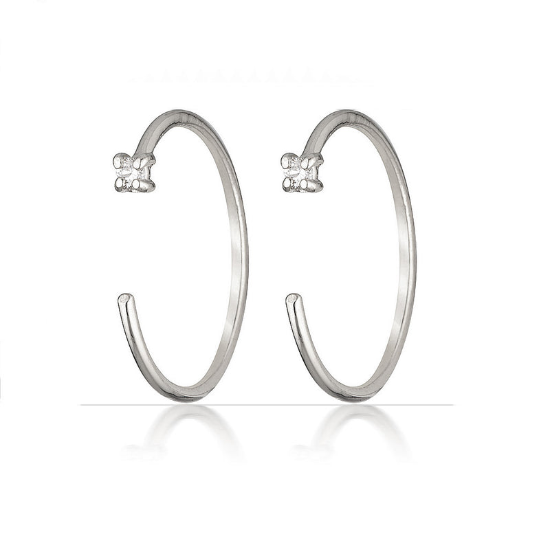 Theresa earrings | diamond