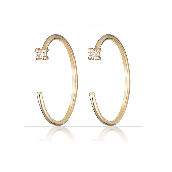 Theresa earrings II | diamond