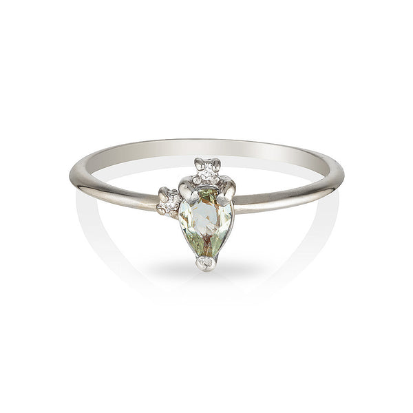 Adeline | green sapphire & diamonds - Limited Edition