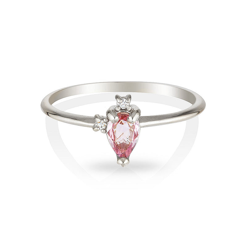 Adeline | pink sapphire & diamonds - Limited edition