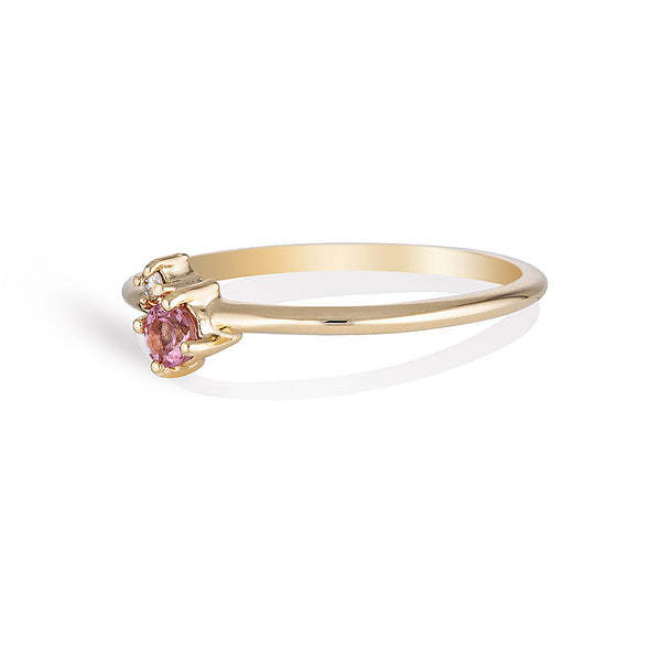 Mischa II | tourmaline & diamond