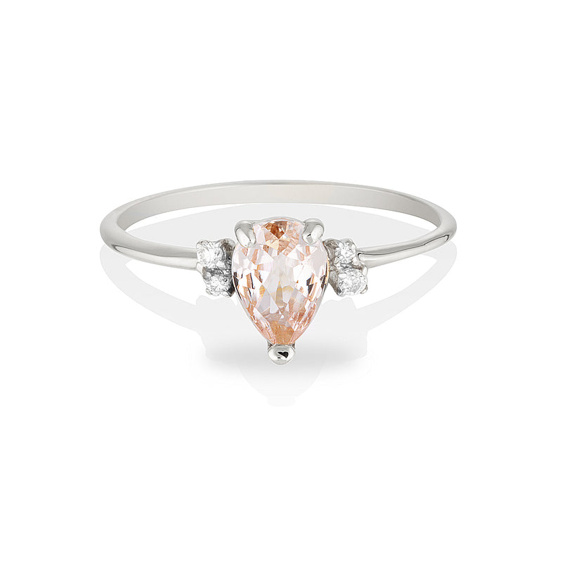 Lilah | morganite & diamonds
