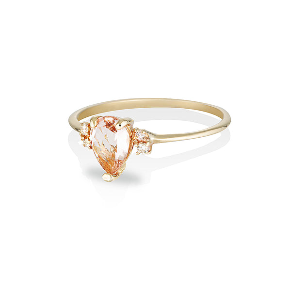 Lilah II | morganite & diamonds