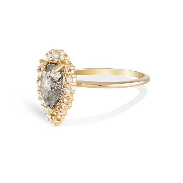 LACEY II | Salt & Pepper diamond One Of A Kind
