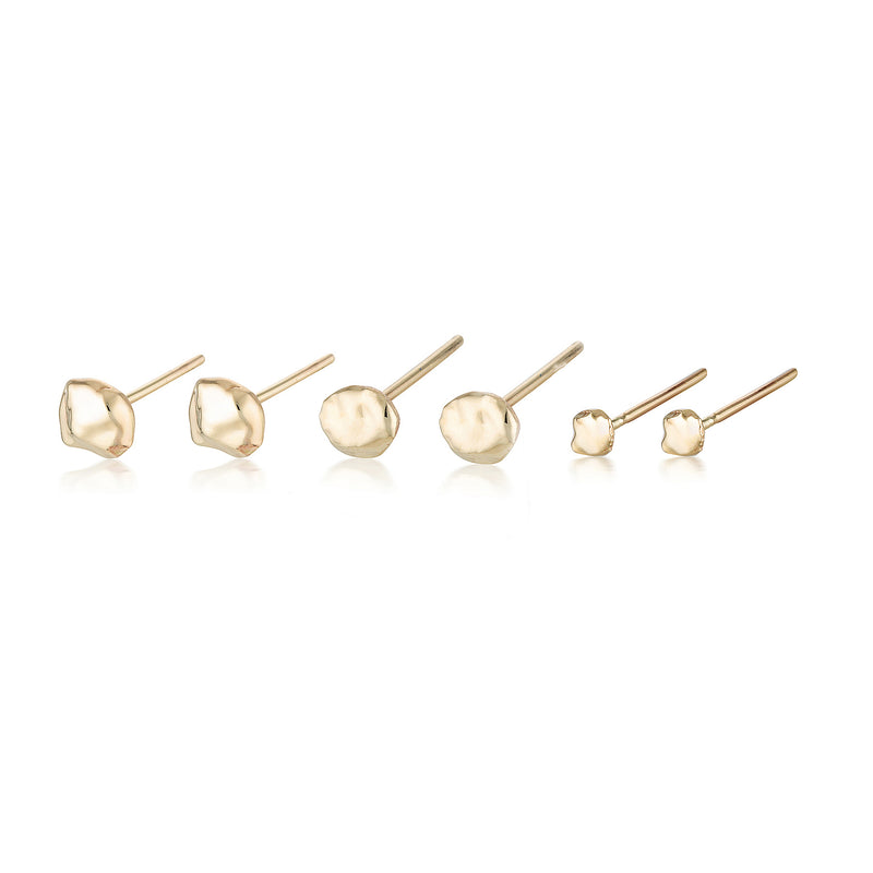 Unearthed studs II - set of 3