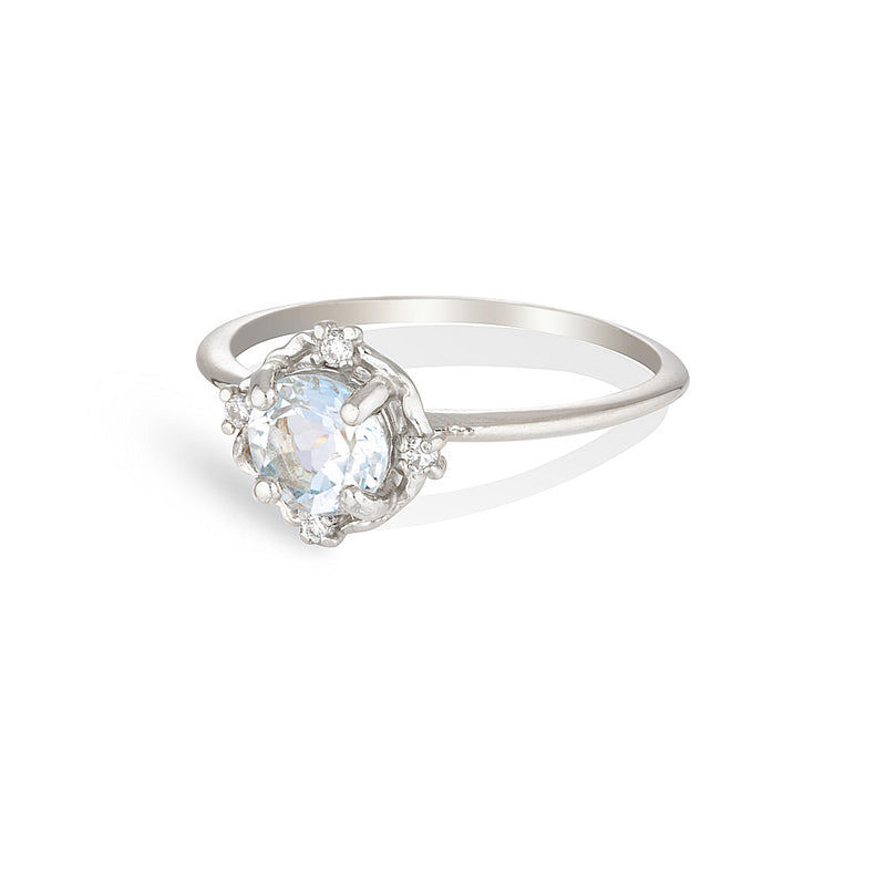 ADRIA | blue topaz & diamonds