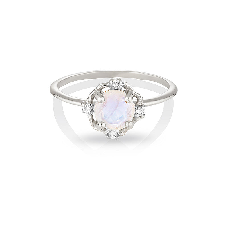 ADRIA | moonstone & diamonds