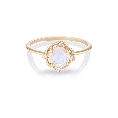 ADRIA II | moonstone & diamonds