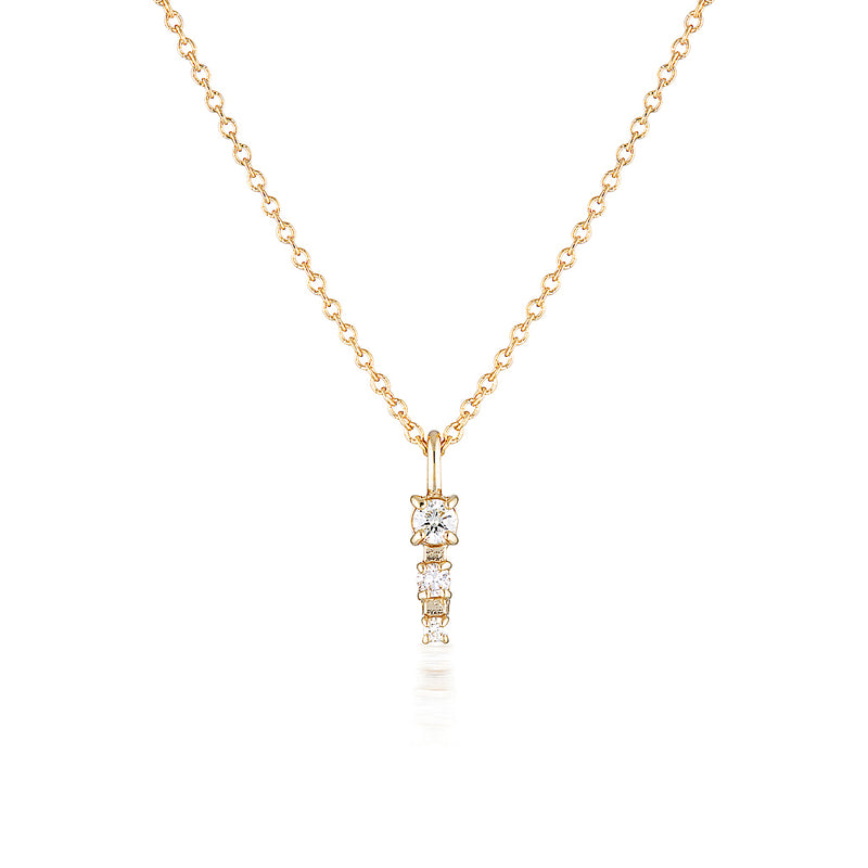 Mila necklace II | diamond