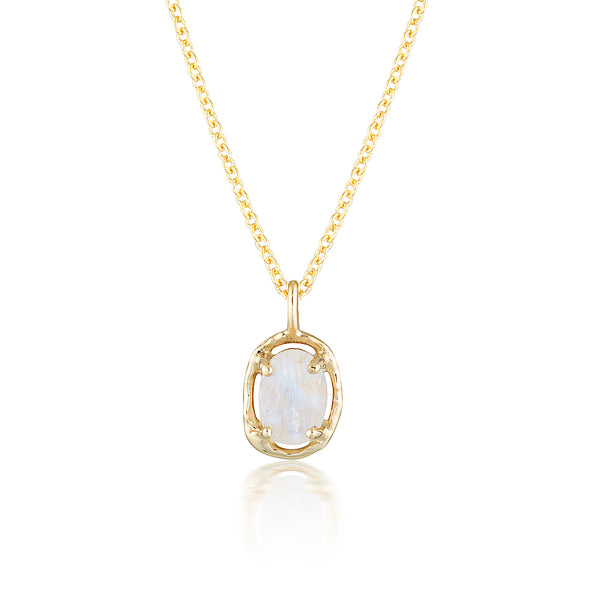 Gemma necklace II | moonstone