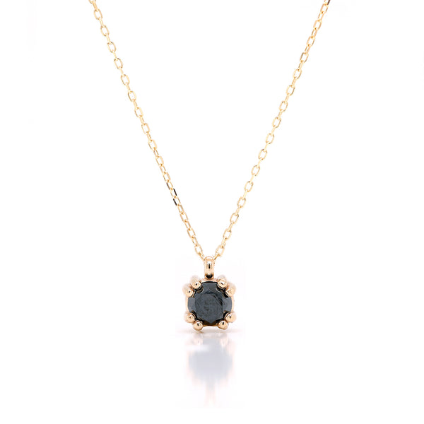 Venus necklace II | black diamond