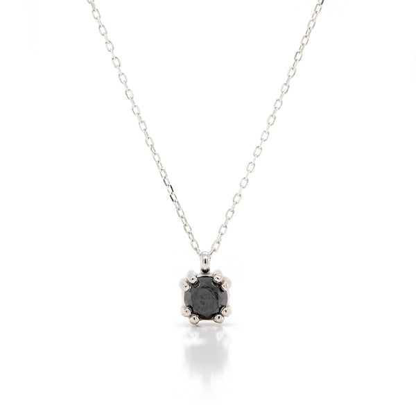 Venus necklace | black diamond