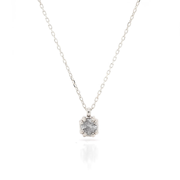 Venus necklace | grey diamond