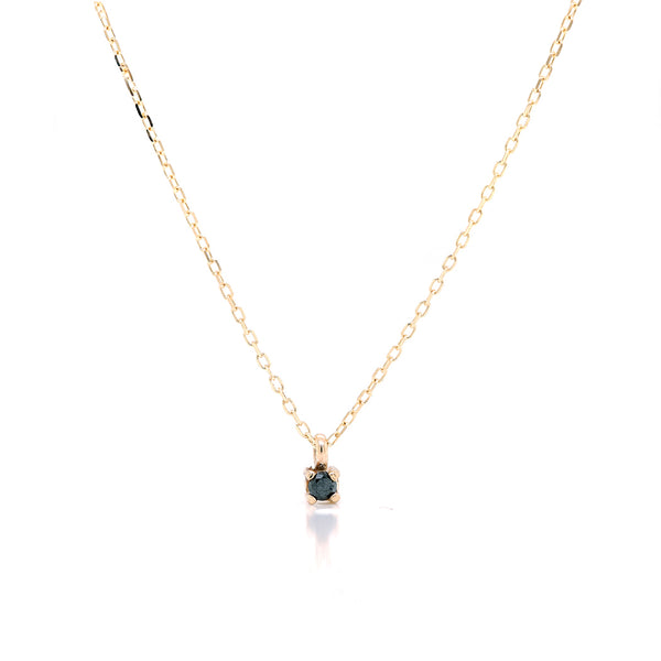 Faye necklace II | black diamond