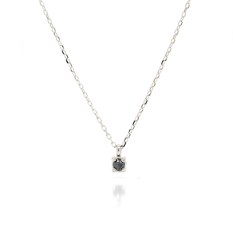 Faye necklace | black diamond