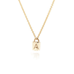 Love Lock necklace II - Diamond