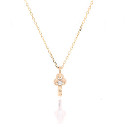 Mini Key Necklace II - diamond