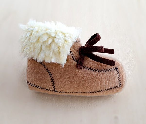 moccasin catnip toy