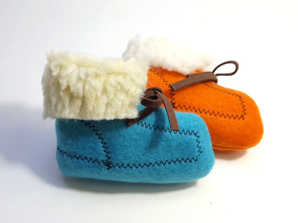 Moccasin Catnip Toy in Two Colors