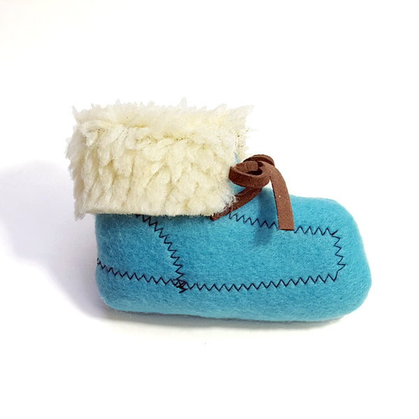 Blue Moccasin Catnip Toy
