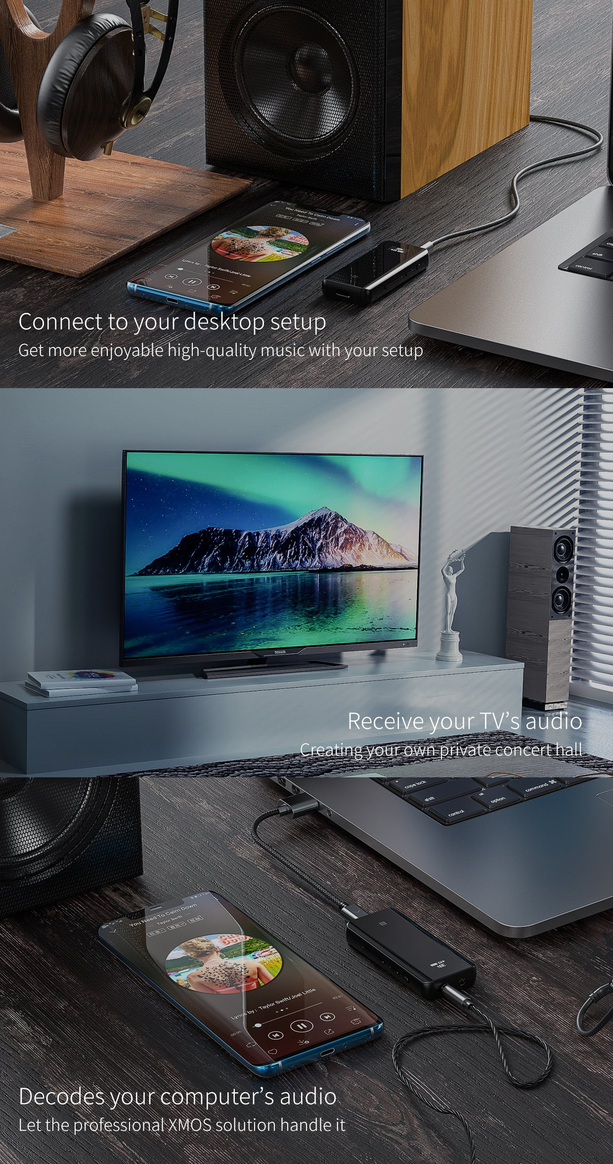 Connect to your desktop setup