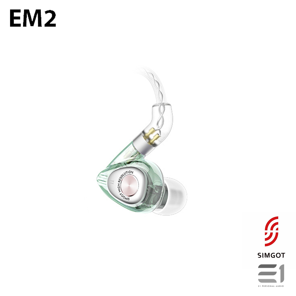 Simgot, SIMGOT EM2 In-earphones - Buy at E1 Personal Audio Singapore