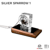 Meccaudio, Meccaudio Silver Sparrow 1 Headphone/Earphone Upgrade Cable - Buy at E1 Personal Audio Singapore