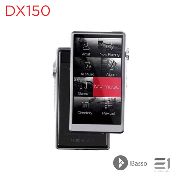 iBasso, iBasso DX150 Portable Digital Audio Player - E1 Personal Audio Singapore