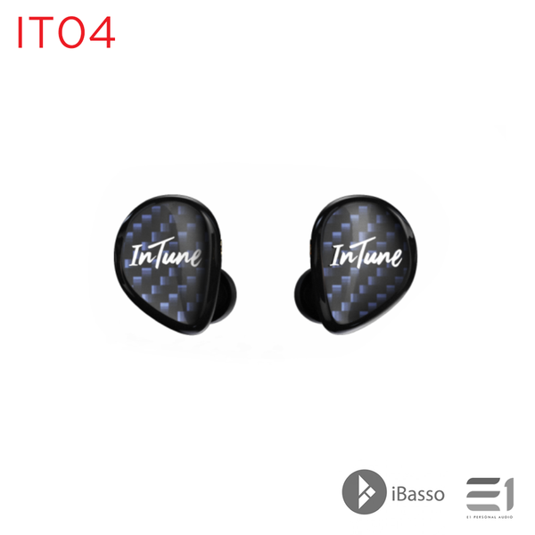iBasso, iBasso IT04 IN-EAR EARPHONES - E1 Personal Audio Singapore