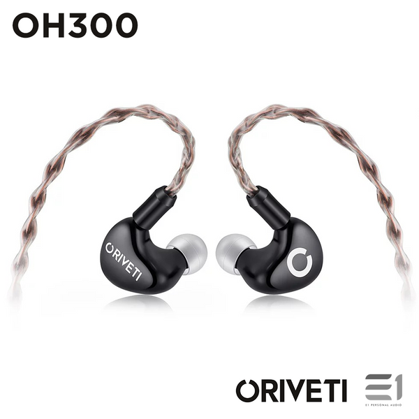 Oriveti, ORIVETI OH300 - Premium 2+1 Hybrid HiFi In-Earphones - Buy at E1 Personal Audio Singapore