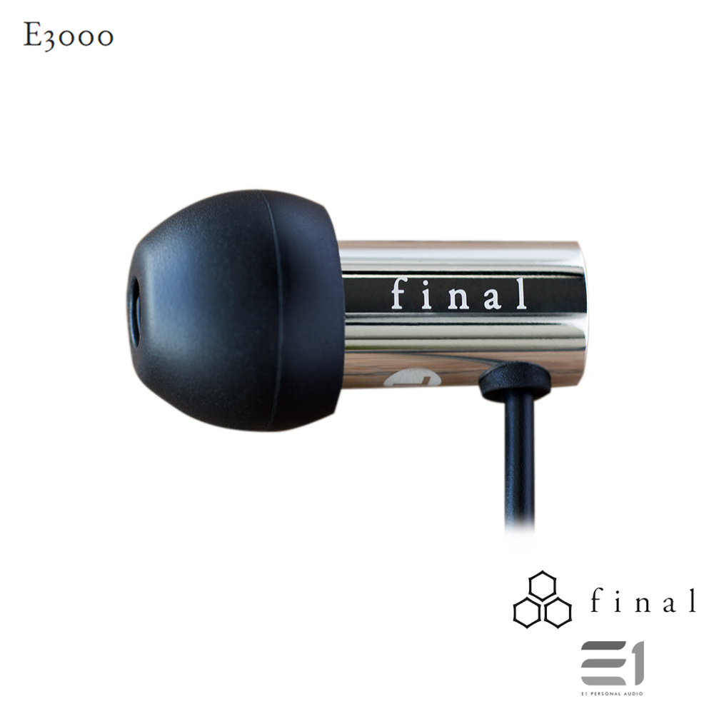 Final Audio, FINAL AUDIO E3000 MIRROR FINISH - Buy at E1 Personal Audio Singapore