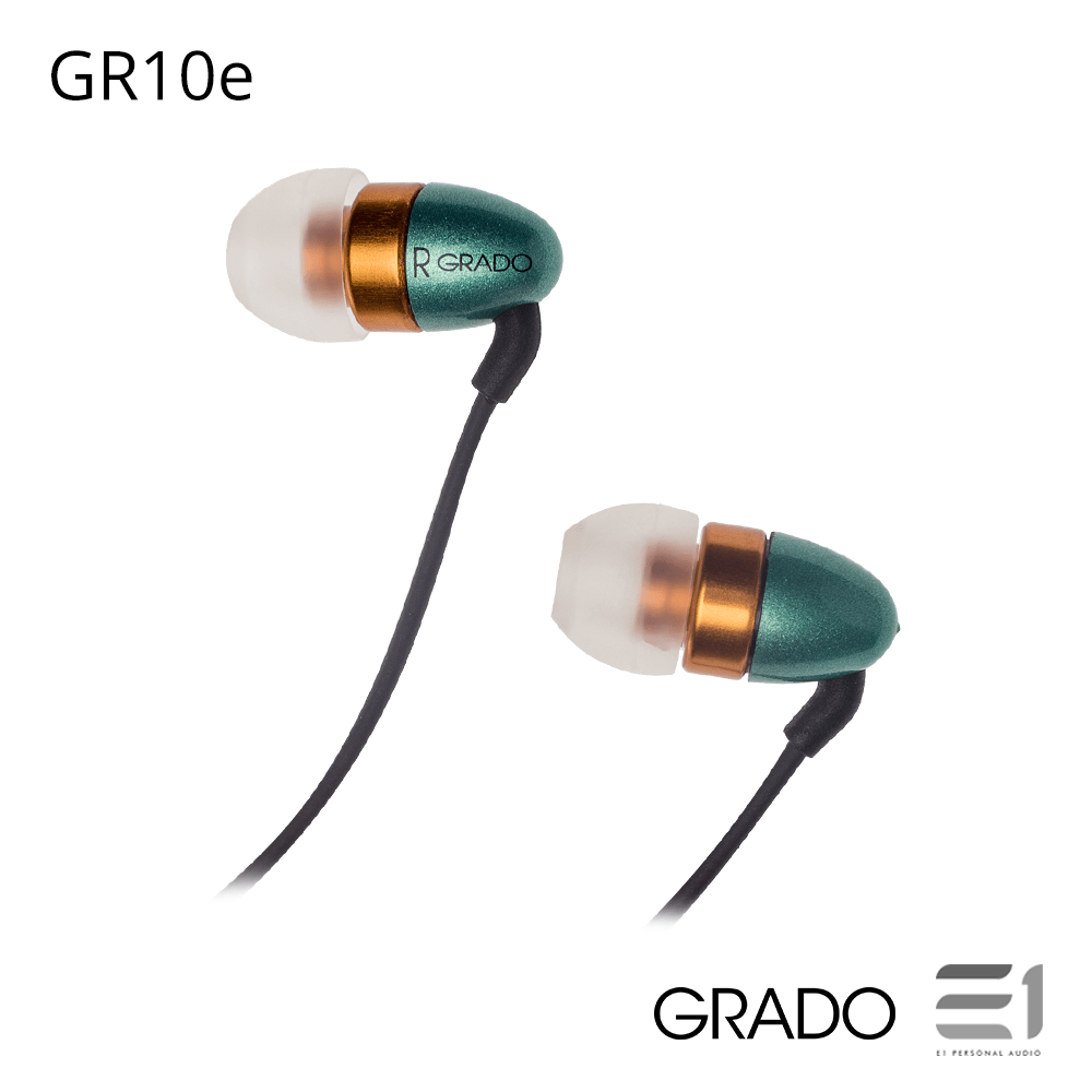 Grado, Grado In Ear Series GR10e In-Earphones - Buy at E1 Personal Audio Singapore