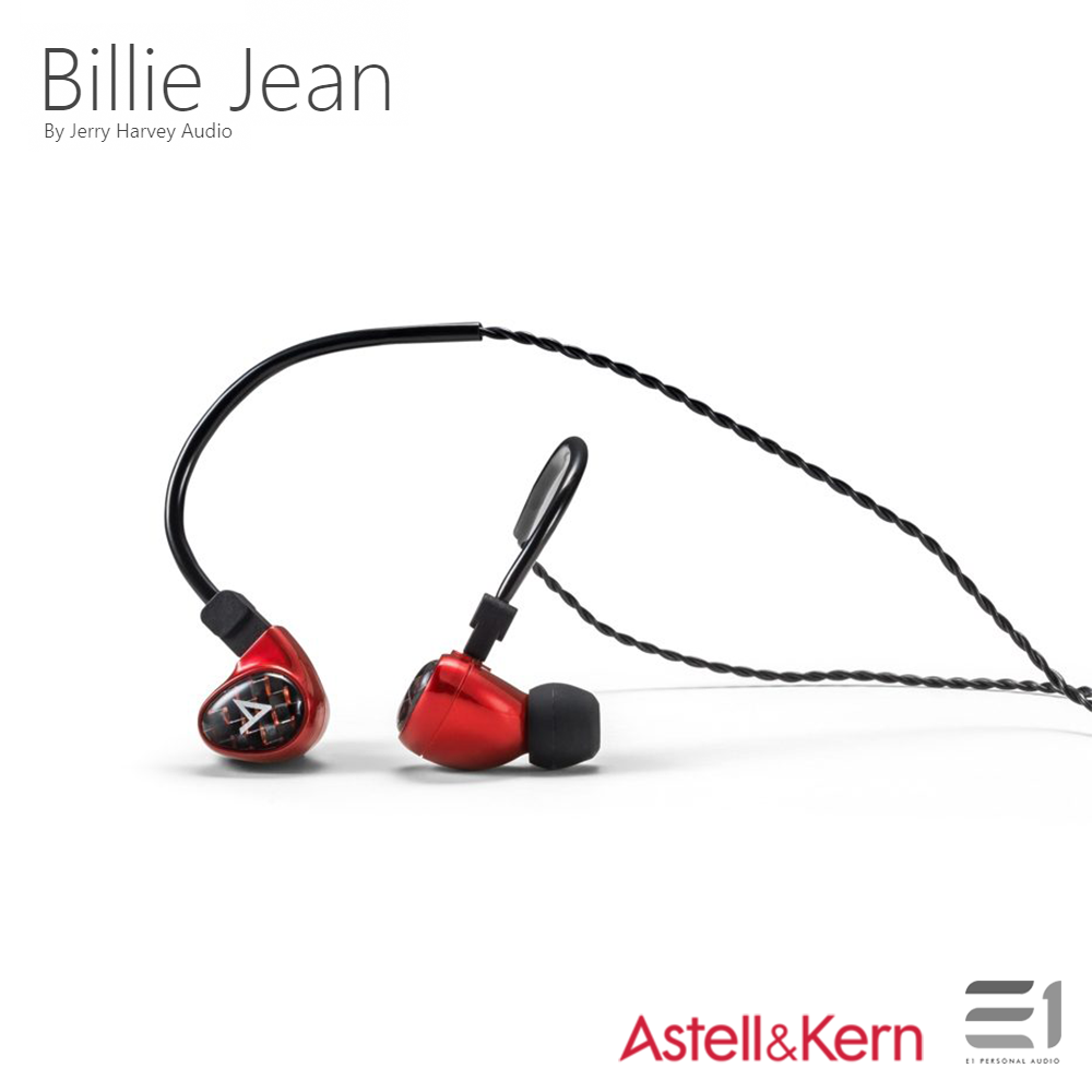Astell&Kern, ASTELL&KERN Billie Jean by Jerry Harvey Audio - Buy at E1 Personal Audio Singapore