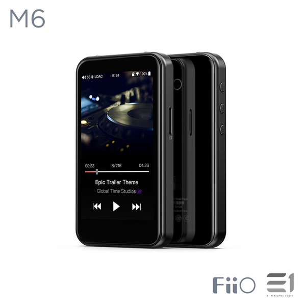 FiiO, FiiO M6 Portable High-Resolution Lossless Music Player - E1 Personal Audio Singapore