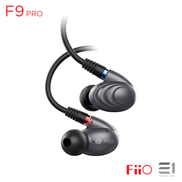 FiiO, FiiO F9 Pro In-earphones - E1 Personal Audio Singapore