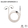 Meccaudio, Meccaudio Silver Sparrow 2 Headphone/Earphone Upgrade Cable - Buy at E1 Personal Audio Singapore