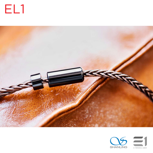 Shanling, Shanling EL1 - Premium MMCX Balanced Earphone Replacement Cable (2.5mm/4.4mm) - Buy at E1 Personal Audio Singapore
