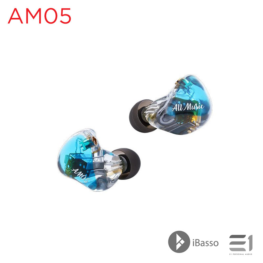 iBasso, iBasso AM05 5 Knowles Balanced Armatures In Earphone - Buy at E1 Personal Audio Singapore