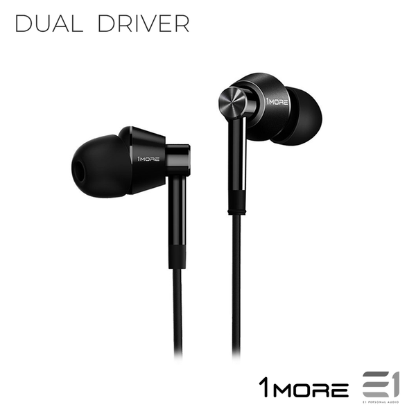 1More, 1More (E1017) Dual Driver IN-EAR HEADPHONES - E1 Personal Audio Singapore