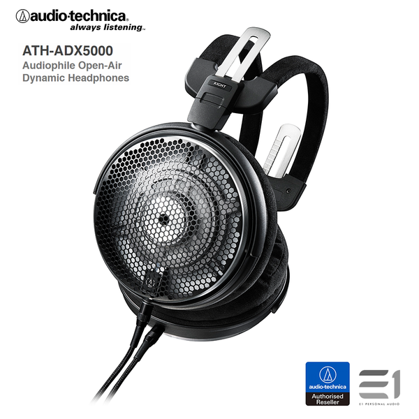 Audio-Technica, Audio-Technica ATH-ADX5000 Audiophile Open-Air Dynamic Headphones - E1 Personal Audio Singapore