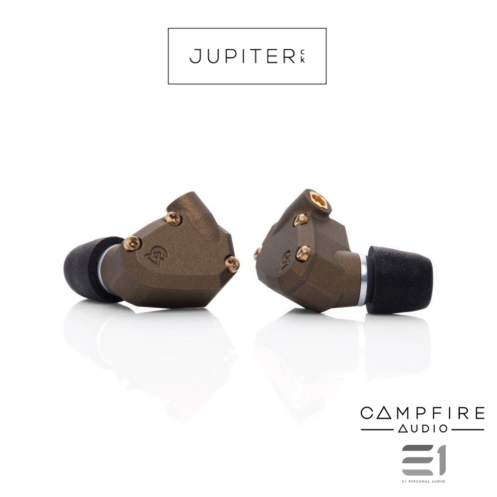 Campfire Audio, Campfire Jupiter Premium In-earphones - Buy at E1 Personal Audio Singapore