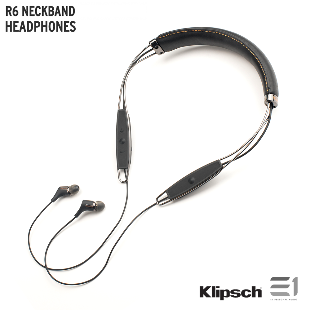 Klipsch, Klipsch R6 NECKBAND HEADPHONES - Buy at E1 Personal Audio Singapore